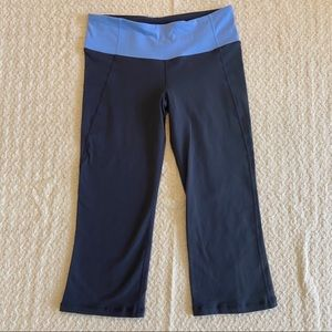Lululemon Athletica crow crop leggings size8